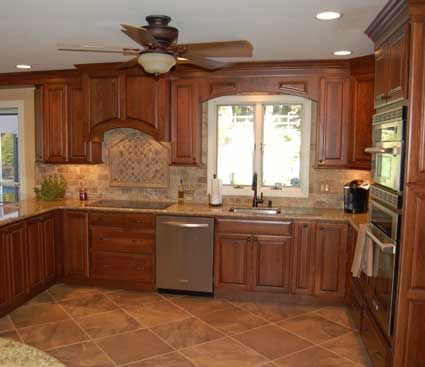 1000 Images About Kitchens Medium Brown On Pinterest Cherries Toffee An