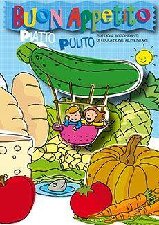 Libro educazione alimentare a scuola