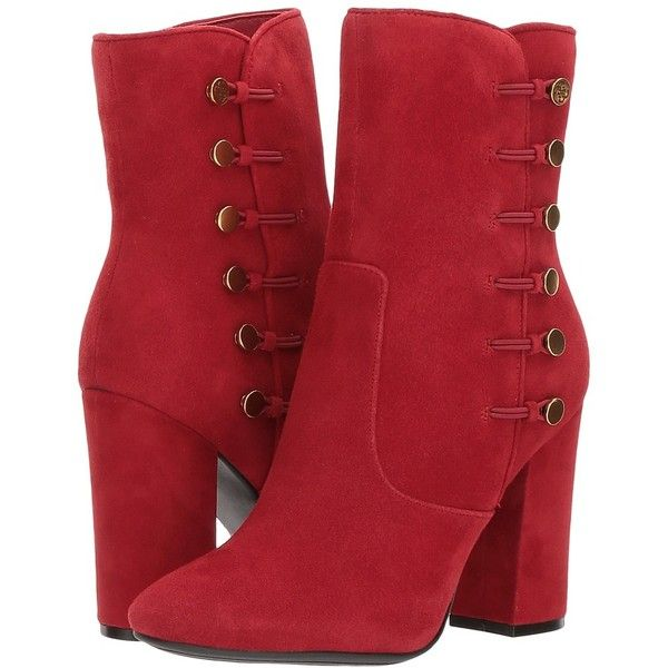 GUESS Lucena (Red Suede) Women's Boots