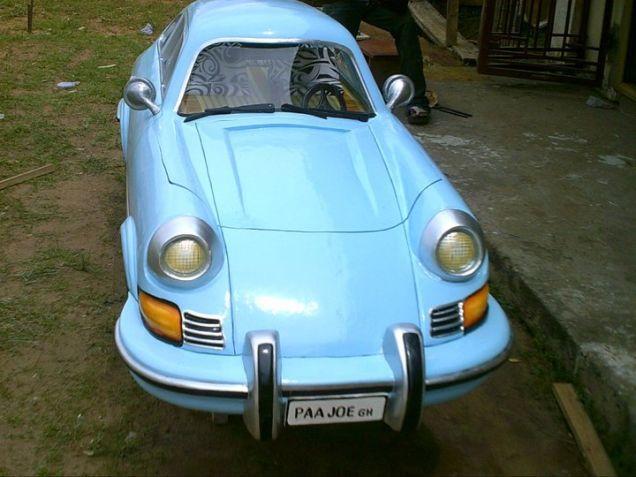 Paa Joe, 1973 Porsche 911 2.7 R.S in color 'Baby Blue'