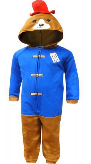 2d9e7d928b Paddington Bear One Piece Toddler Pajamas
