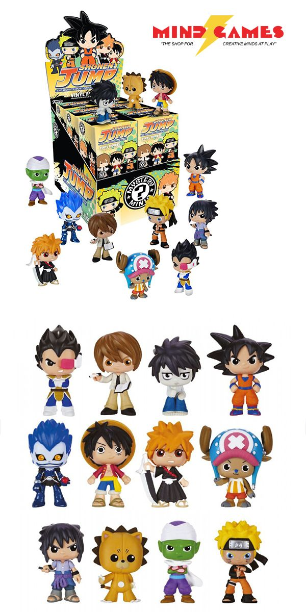 Best of Anime Series 2 Mystery Minis offers a large variety of possible figures from anime canon. You could get Luffy from One Piece, Vegeta from One Piece, Goku from Dragon Ball Z, Piccolo from Dragon Ball Z, Naruto Sasuke, Naruto Light, L from Death Note, Ryuk from Death Note, or Ichigo from Bleach.