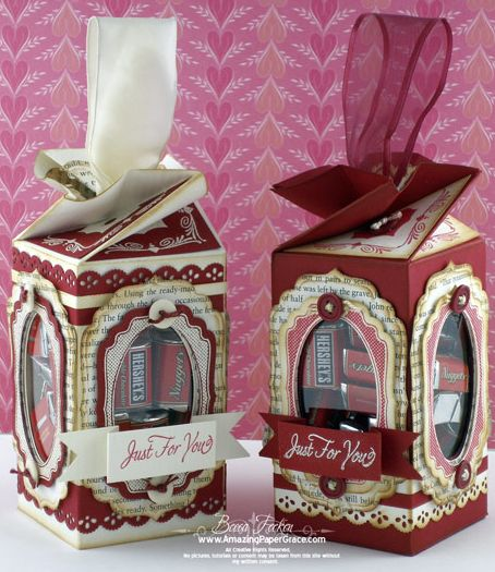 Beautiful Treat Boxes from Amazing Paper Grace