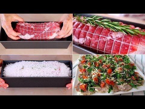 ARISTA AL SALE - Ricetta Facile per cuocere l'arista di maiale da condire e servire calda o fredda - YouTube