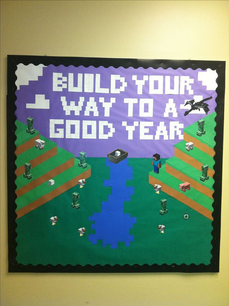 Minecraft Mine Craft bulletin board