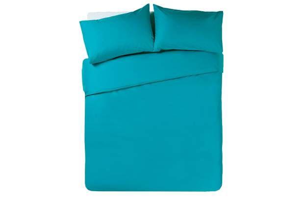 ColourMatch Teal Bedding Set - Kingsize