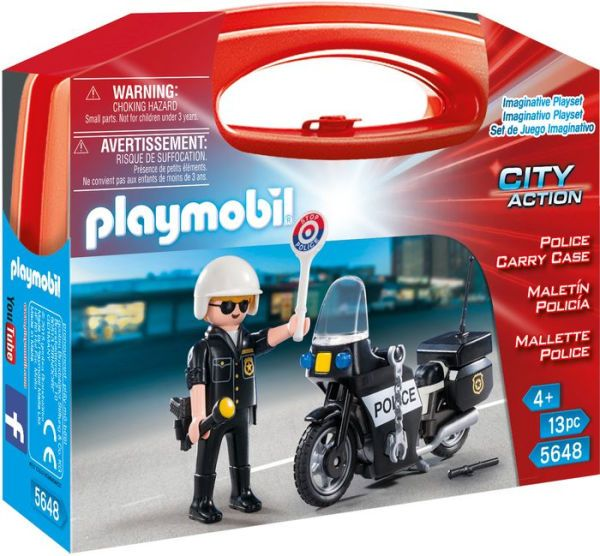 PLAYMOBIL Police Carry Case - Small