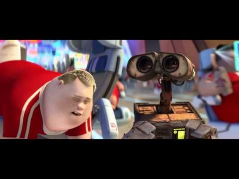 The Human Race if WE don't change This is a clip from Wall-E. It illustrates the future dystopia we're headed to.