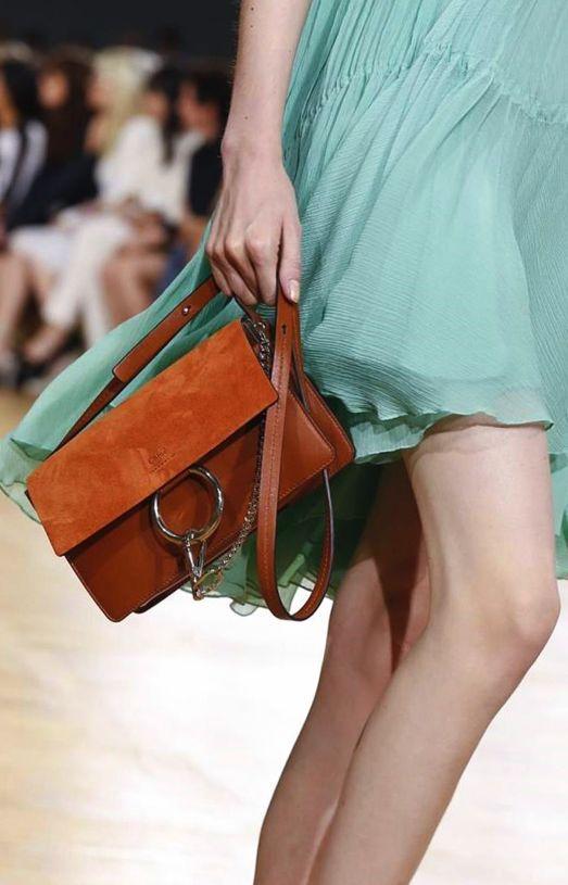 Chloe Terracota Faye Small Bag - Spring 2015