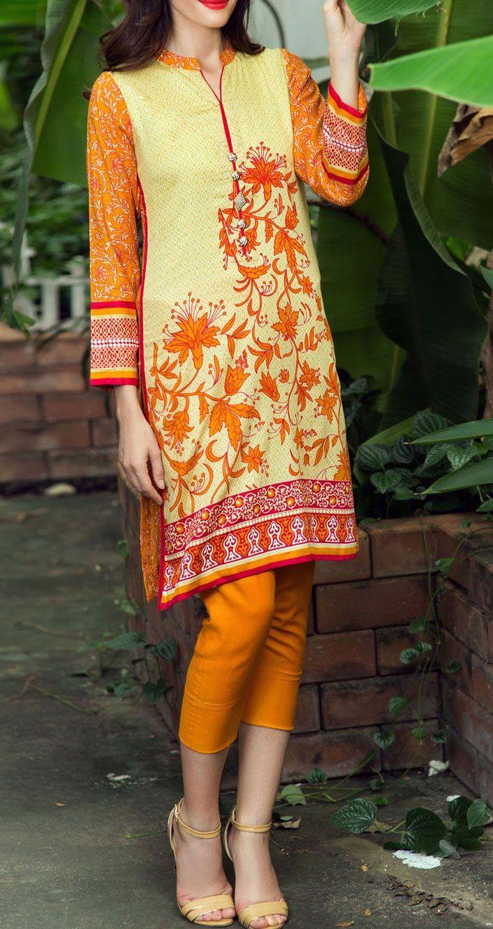 Buy Lime/Orange Printed Wool Crepe Salwar Kameez (2pc) by Bonanza 2015 Email: Info@PakRobe.com www.pakrobe.com https://www.pakrobe.com/Women/Clothing/Buy-Winter-Salwar-Kameez-Online #Winter_Salwar_kameez