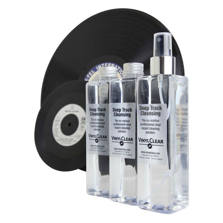 VinylClear Vinyl Record Cleaner LP Antistatic Cleaning Solution - 3 x 250ml #VinylClear