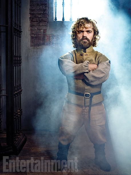 As we head into Game of Thrones season 5 premiere weekend, here's our Q&A with Emmy-winning star Peter Dinklage. When we last saw his character Tyrion Lannister in last year's finale, he had just murdered his father and his lover and then was packed into a crate bound forEssos. Now a fugitive, we'll meet up with Tyrion on Sunday night getting unpacked by Varys in Pentos with quite a hangover.