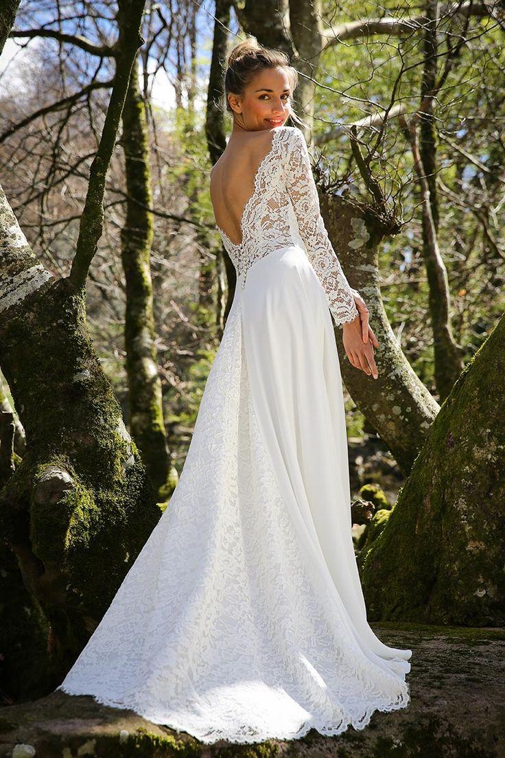 Célèbre Les 25 meilleures idées de la catégorie Robe marie laporte sur  QS55