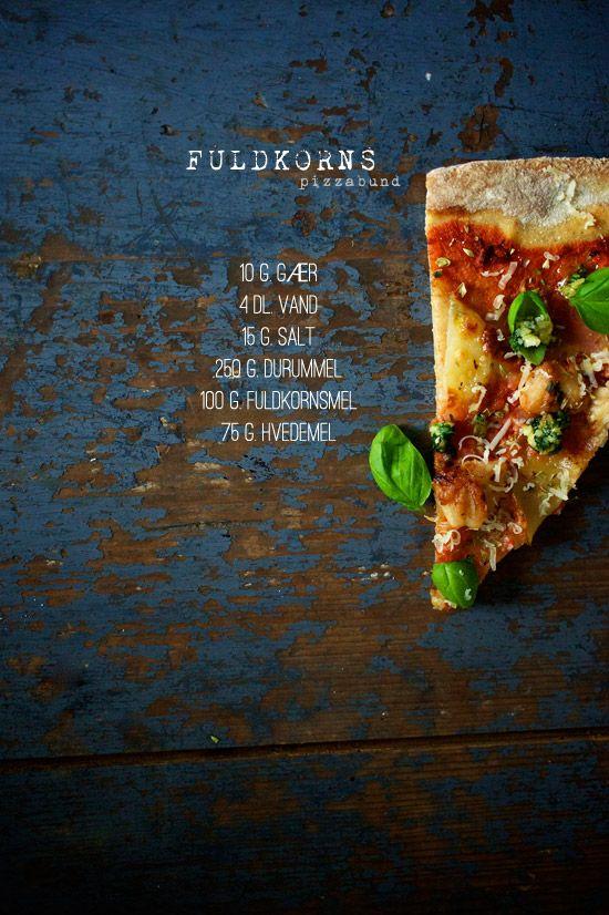 Fuldkorns-pizzabund
