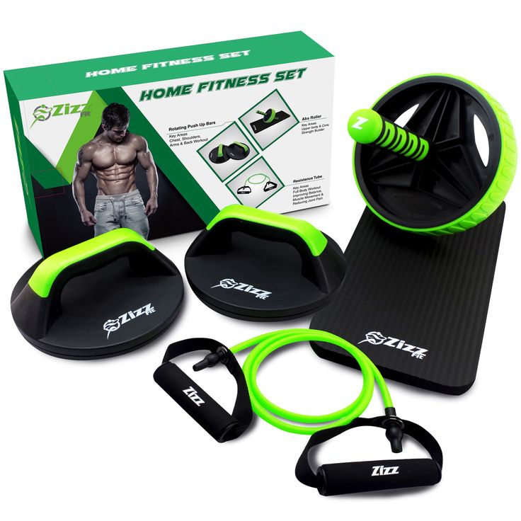 The Ultimate Home Fitness Set.