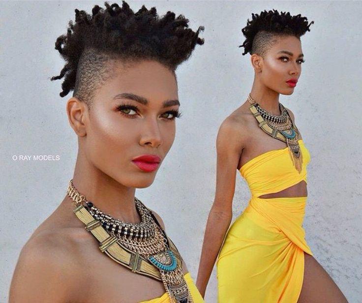 Excellent 1000 Images About H A I R S H A V E D On Pinterest Braids Short Hairstyles For Black Women Fulllsitofus
