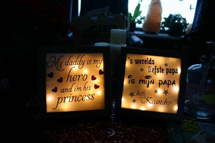 glassblocks, lanterns and lighted photoframes I created/altered