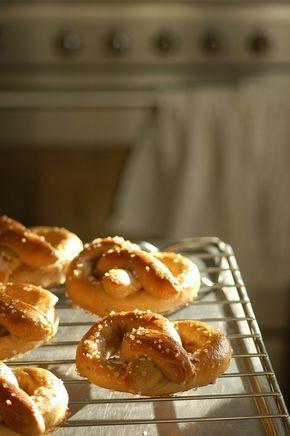 opskrift på pretzels
