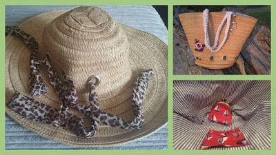 Make a bag... from an old hat! #refashion #bag #sewing #DIY