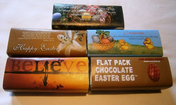 We can not make Easter Eggs and we do not believe in the Easter Bunny, so we brought out  special editions for Easter that celebrates being reborn in Faith.