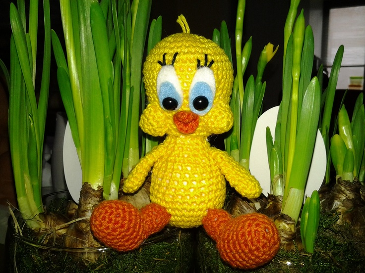 Amigurumi Tweety Bird : 17 Best images about Amigurumi Stuff on Pinterest ...