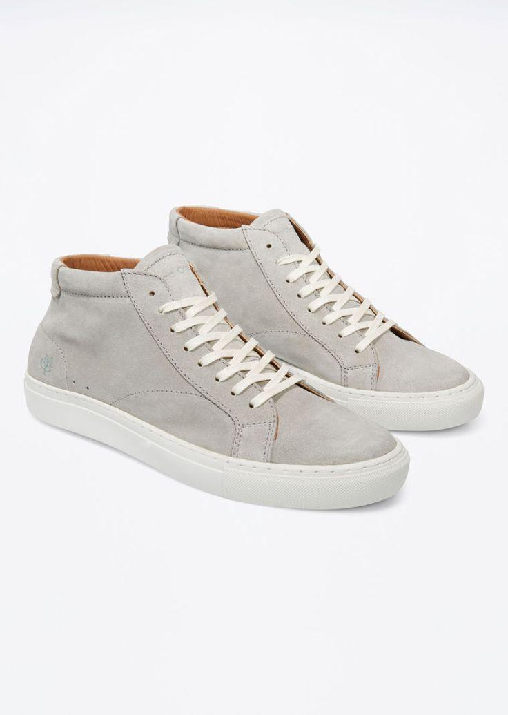 MARC O'POLO, Herren, Schuhe & Accessoires, Schuhe, Sneaker, aus Kalbveloursleder