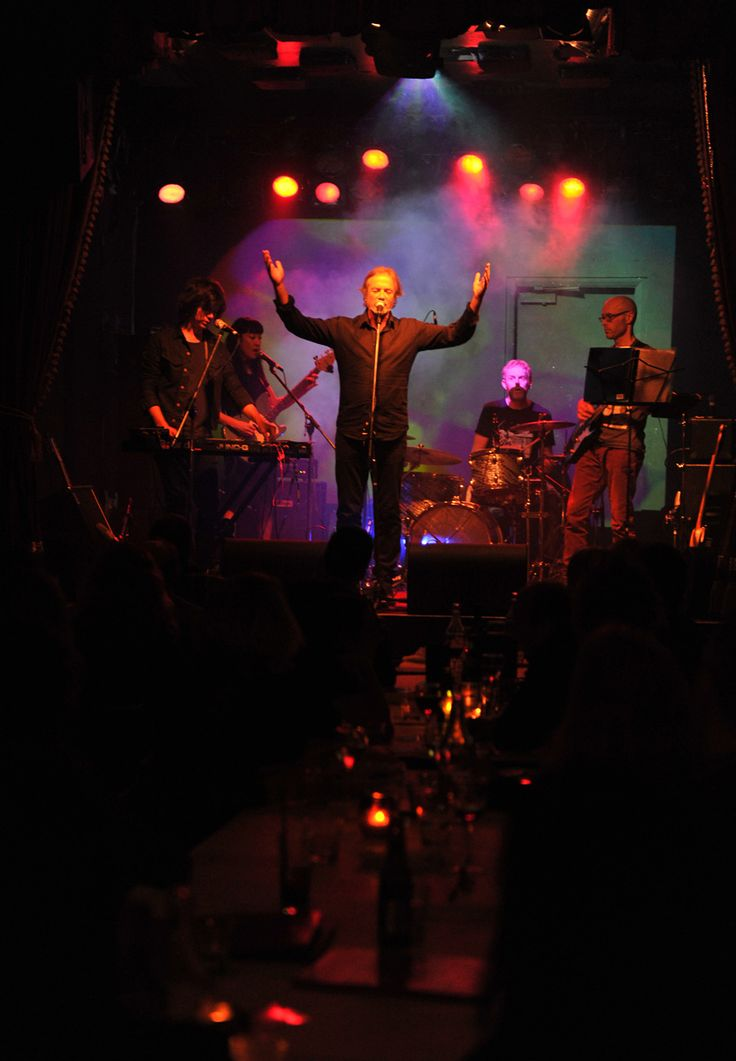 Steve Kilbey & Martin Kennedy live at the Vanguard, Sydney 8 June 2013. Photo copyright Martin Lange