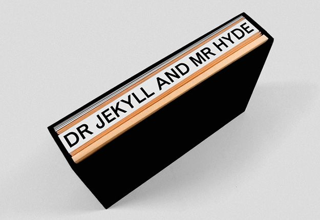 Strange Case of Dr. Jekyll and Mr. Hyde — Written by R. L. Stevenson, 1886. Designed by Alberto Hernández. Self-initiated, 2009