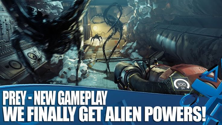 Prey - New Gameplay - We Finally Get Alien Powers!
