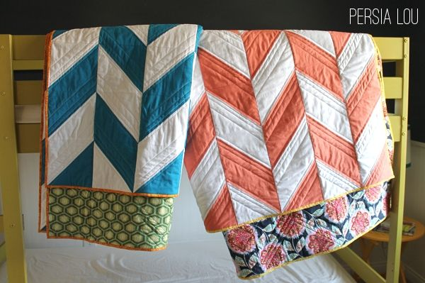 Persia Lou: Herringbone Quilts Part Two