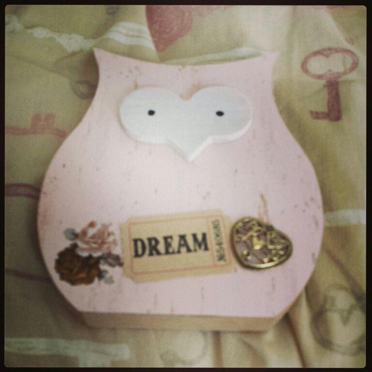 Love owls handmade by me