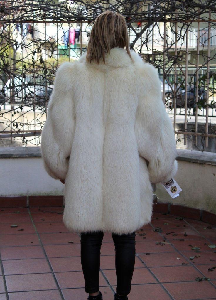COAT FUR FOX JACKET FUCHS JACKE PELZMANTEL FOURRURE RENARD PELLICCIA VOLPE mex | eBay