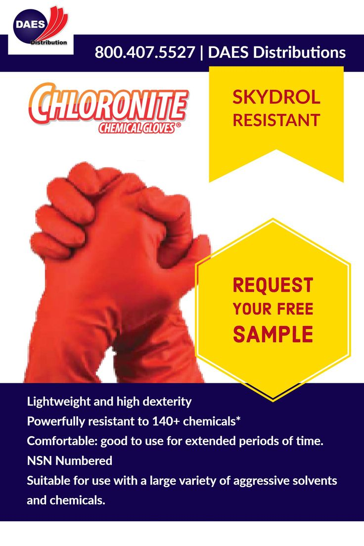 High performance glove Chemical resistant.  Innovative technology that blends Chloroprene and Nitrile Chloronite. #Skydrol resistant  #EN420 #highdexterity. #Textured #fingers #Glove #ChemicalResistant #Aircraft #shop #NSN #repair #MRO