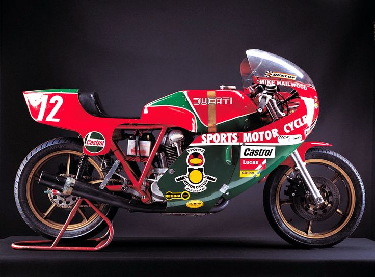 Mike Hailwood's 1978 TT winning Ducati 900 - repined by http://www.motorcyclehouse.com/