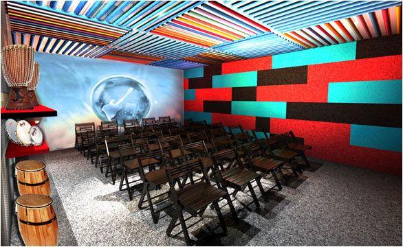 Salas de música Rock in Rio - Por um mundo melhor  Cliente: Rock in Rio  Cenografia: ZADA Criação Sustentável