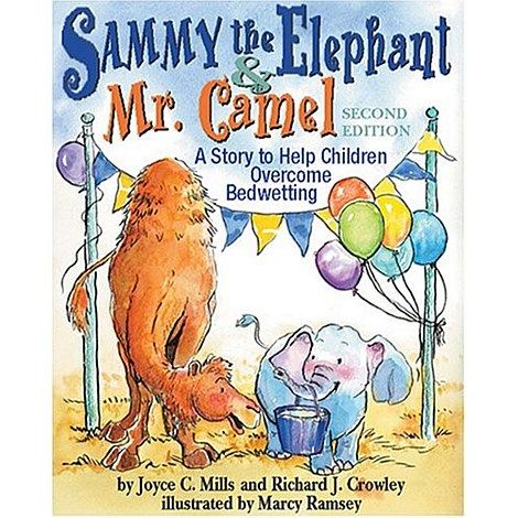 Brolly Sheets Toilet Training Book - Sammy the Elephant and Mr. Camel is a gently empowering book for children who have trouble staying dry. This encouraging story about a delightful little elephant will help children learn to overcome problems with wetting. A comprehensive healing metaphor, it addresses feelings of insecurity, frustration, and ridicule while encouraging children to find inner strength to overcome their challenges.Visit our website for more details.