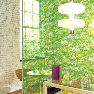 Sophisticated 'Chinese Maple' glass film by Baresque