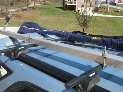 Suggestions for Car-Topping a Rowing Shell