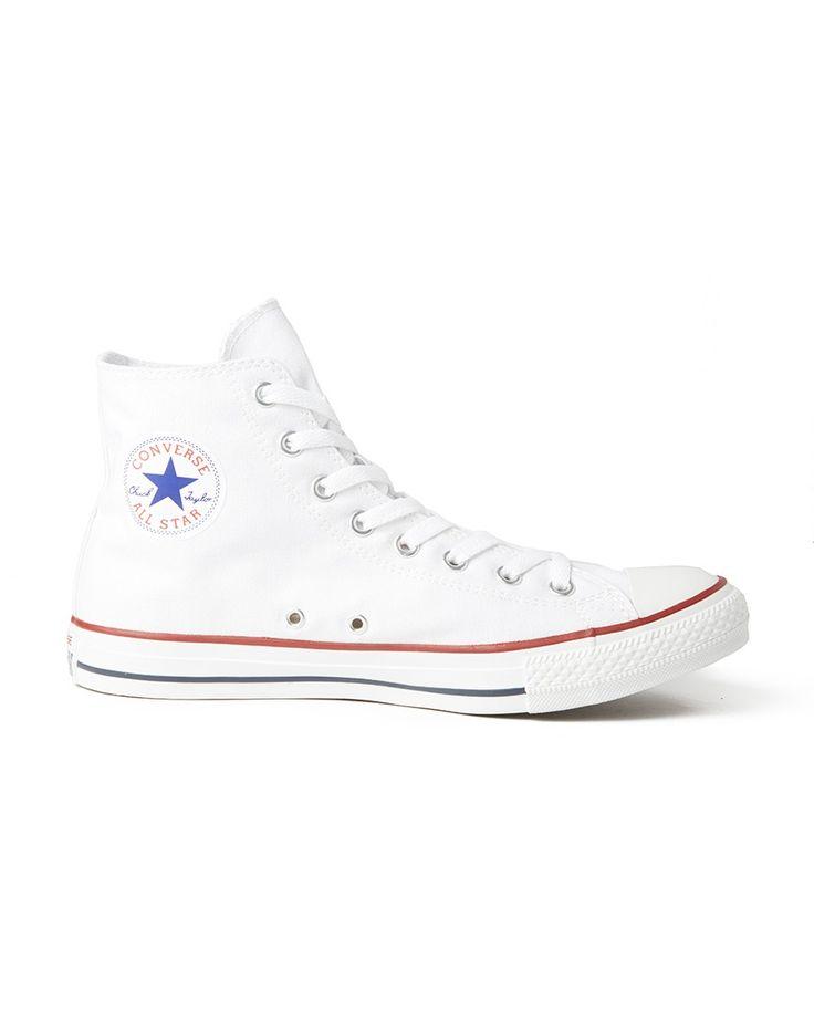 Converse Chuck Taylor All Star Hi-Top Plimsolls - Men's Shoes at The Idle  Man