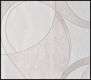 pale taupe geometric wallpaper