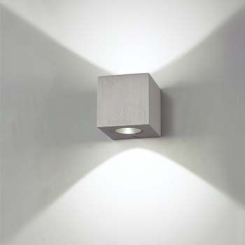 recessed up down lighting for suspended soffit   Progress Lighting P3161-20 1-Light Wall Bracket with White Etched ...
