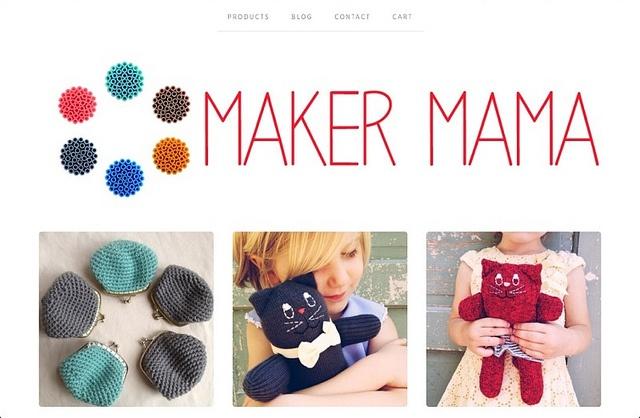 Maker Mama Shop. Cute stuff!