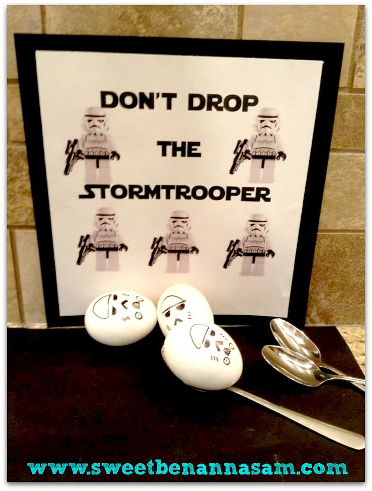 star+wars+party+games | the games jedi training we started with an egg race don t drop the ...
