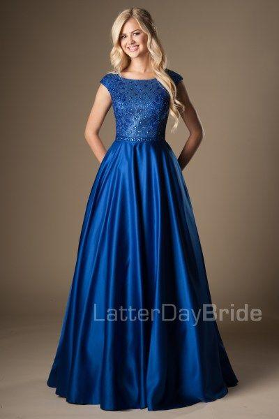 Best 25  Modest prom dresses ideas on Pinterest | Modest formal ...