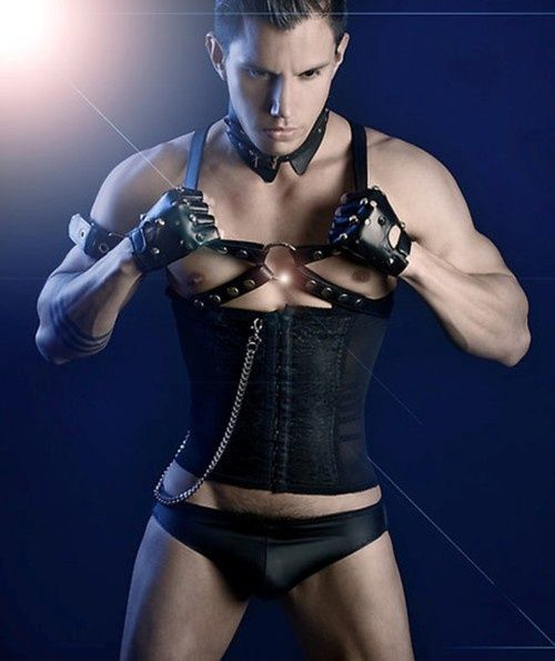 Would love this made as one piece-corset plus top harness. tumblr_mlwb0jLFLd1rkwf03o1_500.jpg (500×595)