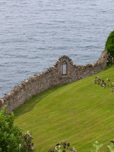 ~Old sea wall, Ireland~