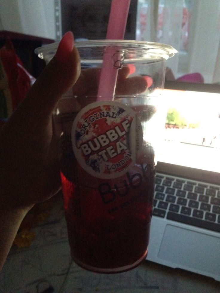 Tak Dneska Malinový Raspberry Bubbleology 31.5.2015