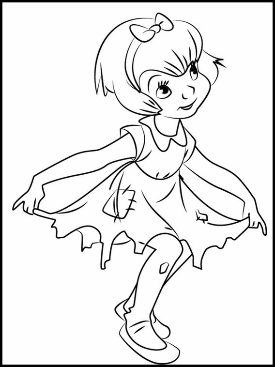 Printable Coloring Pages For Kids All Dogs Go To Heaven 4