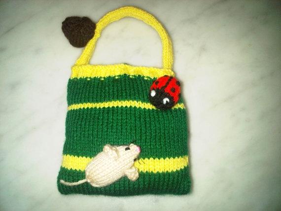 Childs handbag for the girl who loves garden by BagsofCuriosity, £8.99
