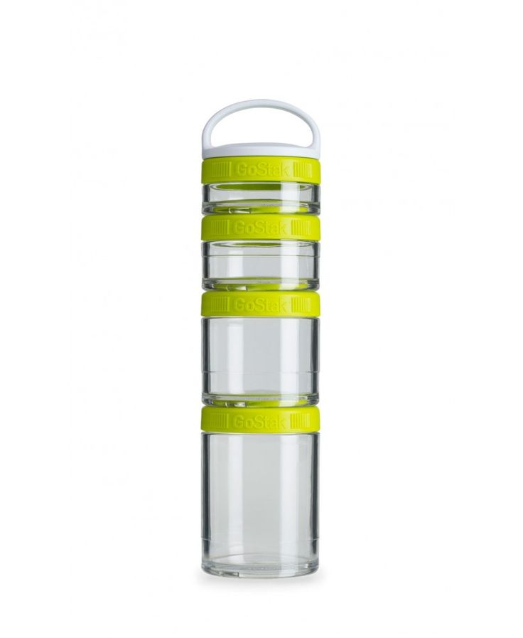 GoStaks are a smart and sleek advancement in portable nutrition. Durable jars secure tightly to carry powders, vitamins, supplements, snacks, and more. Whether you pack pre-, intra-, and post-workout supplements to the gym, or simply need a versatile system for snacks and small items, the GoStak has you covered.